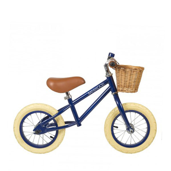 Banwood first go children's balance bike navy