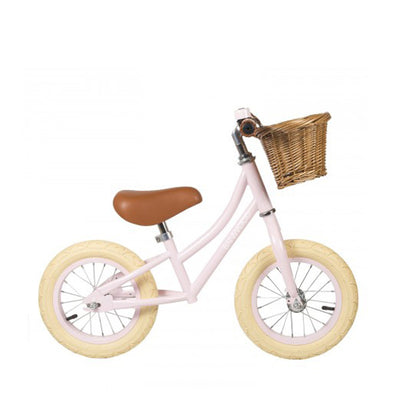 Banwood first go children's balance bike pink