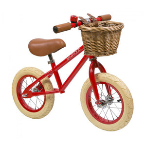 Banwood First Go 12″ Balance Bike – Red
