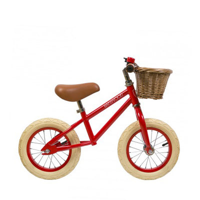 Banwood first go children's balance bike red