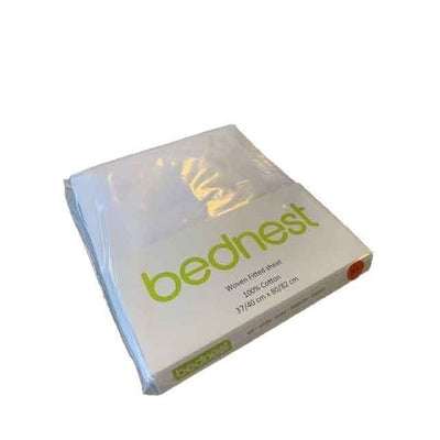 Bednest Cotton Fitted Sheet – White