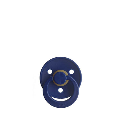 Bibs Classic Round Pacifier – Navy