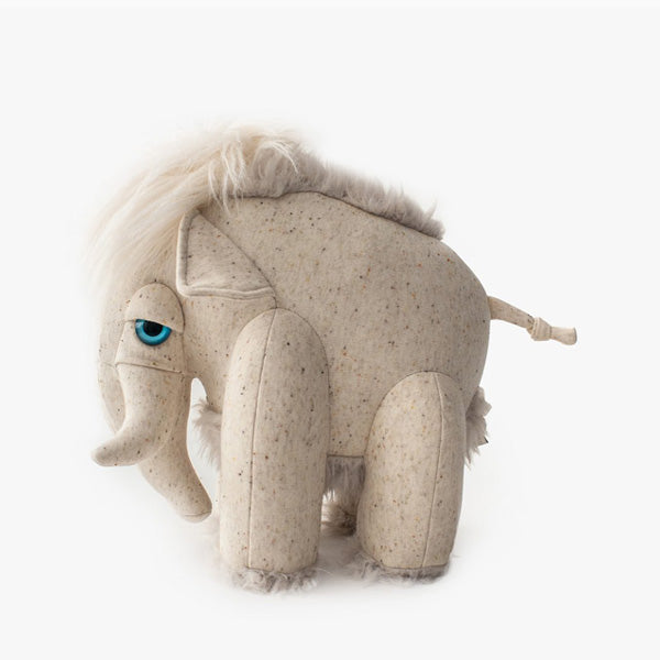 BigStuffed Albino Mammoth - Small