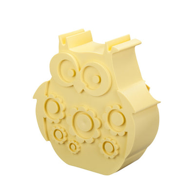 Blafre Lunch Box Owl - Light Yellow