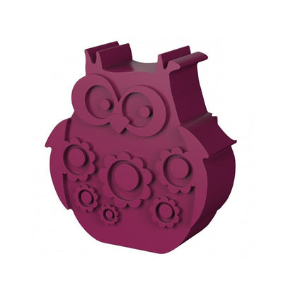 Blafre Lunch Box Owl - Plum Red
