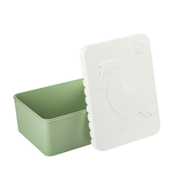 Blafre Lunch Box Puffin - White/Green