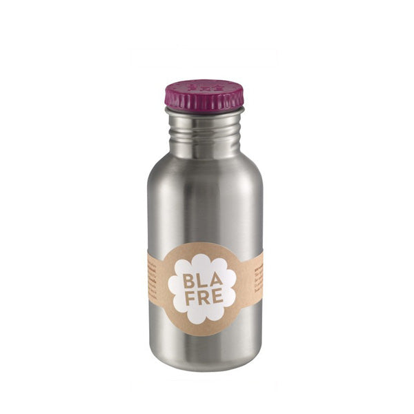 Blafre Steel Bottle 500ml - Plum Red