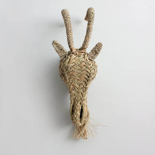 Bohemia Design Woven Animal Head – Goat
