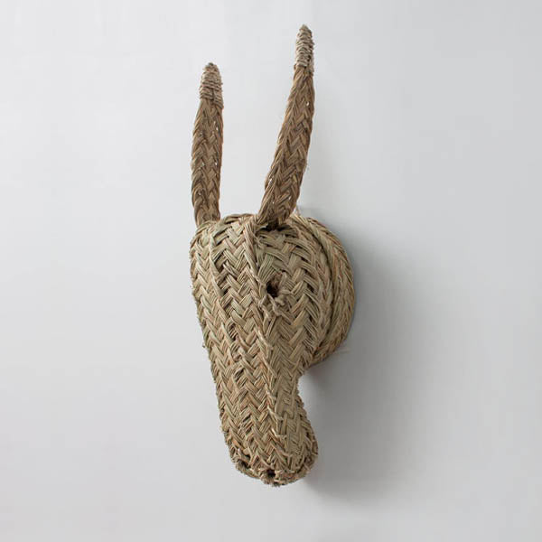 Bohemia Design Woven Animal Head – Donkey