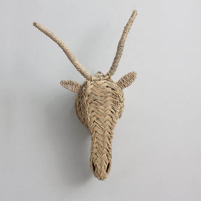 Bohemia Design Woven Animal Head – Gazelle