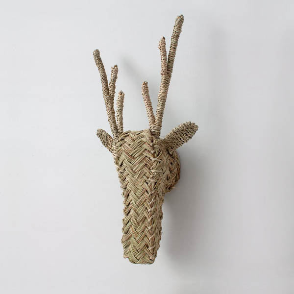 Bohemia Design Woven Animal Head – Stag
