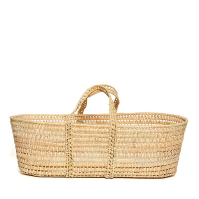Bohemia Design Natural Baby Moses Basket – Palm Leaf
