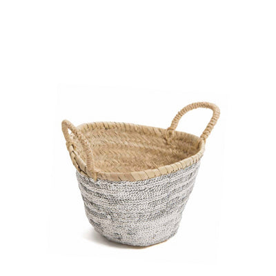 Bohemia Design Mini Sequin Basket – Silver