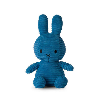 Bon Ton Toys Miffy Corduroy Soft Toy - Aviator Blue