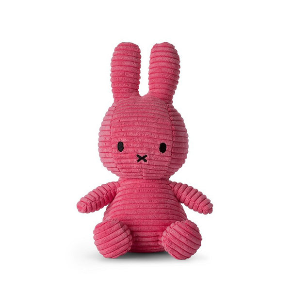 Bon Ton Toys Miffy Corduroy Soft Toy - Bubblegum Pink