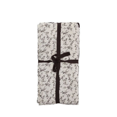 Bonét et Bonét Muslin Cloth 4-Pack - Flower Field / Earth