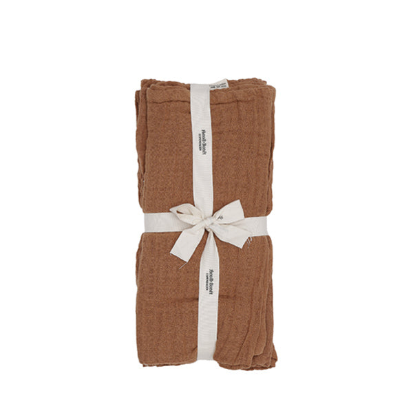 Bonét et Bonét Muslin Cloth 4-Pack - Glazed Ginger