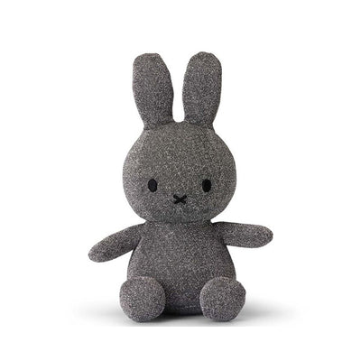 Miffy Soft Toy – Sparkle Silver
