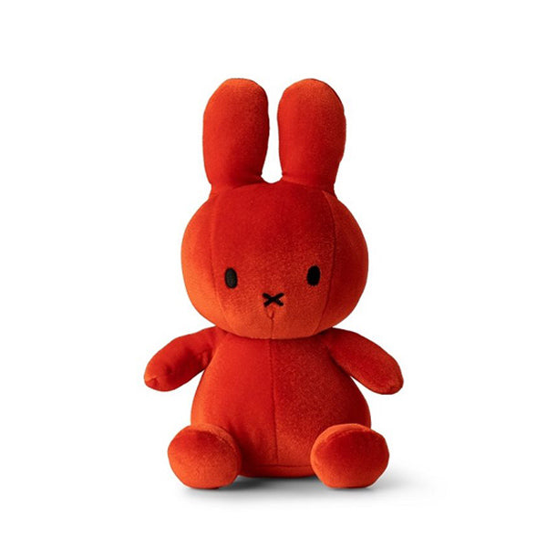 Miffy Velvet Soft Toy – Candy Orange