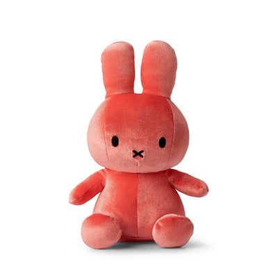 Miffy Velvet Soft Toy – Candy Pink