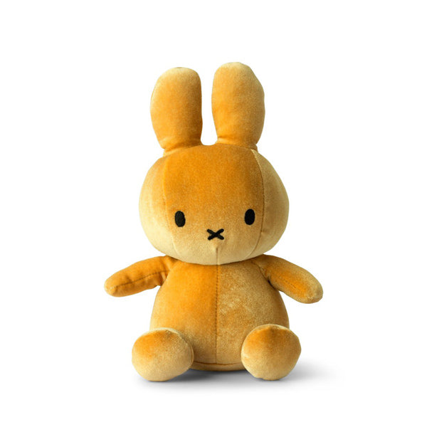 Miffy Velvet Soft Toy – Ocre