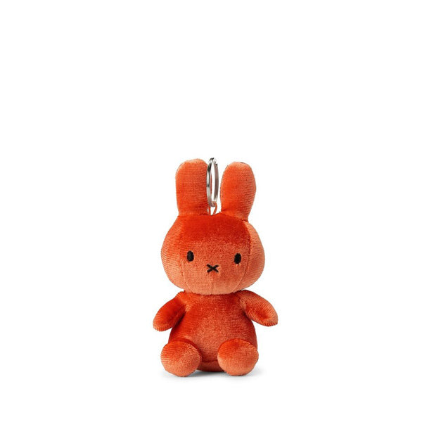 Miffy Velvet Keychain – Candy Orange