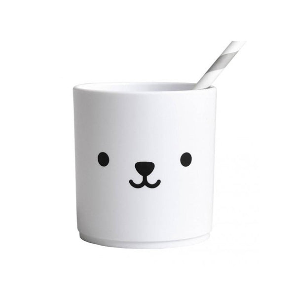 Buddy and Bear Tumbler White Edition - Bear
