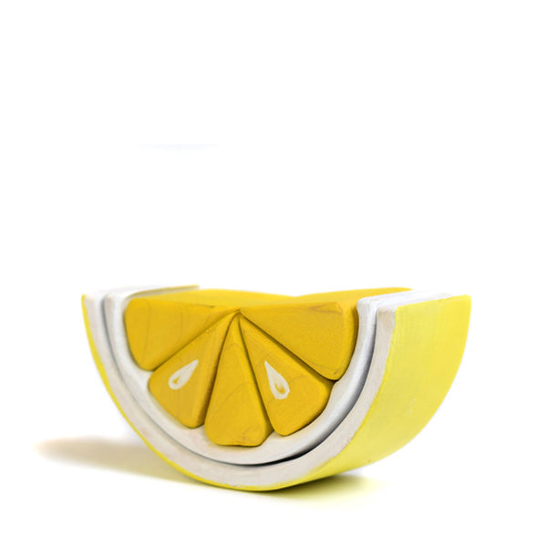 Bumbu Toys Arch Stacker - Lemon