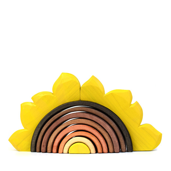Bumbu Toys Arch Stacker - Sunflower