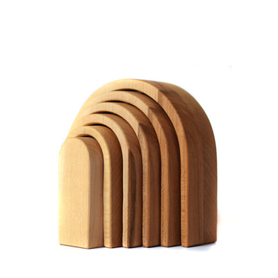 Bumbu Toys Oval Arches - Natural