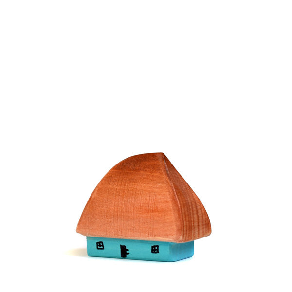 Bumbu Toys Small Traditional House Crisana - Painted