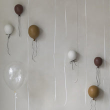 ByON Ceramic Balloon Decoration – Dusty Red