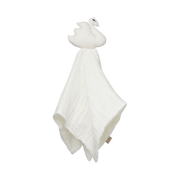 Cam Cam Copenhagen Swan Cuddle Cloth – Off White