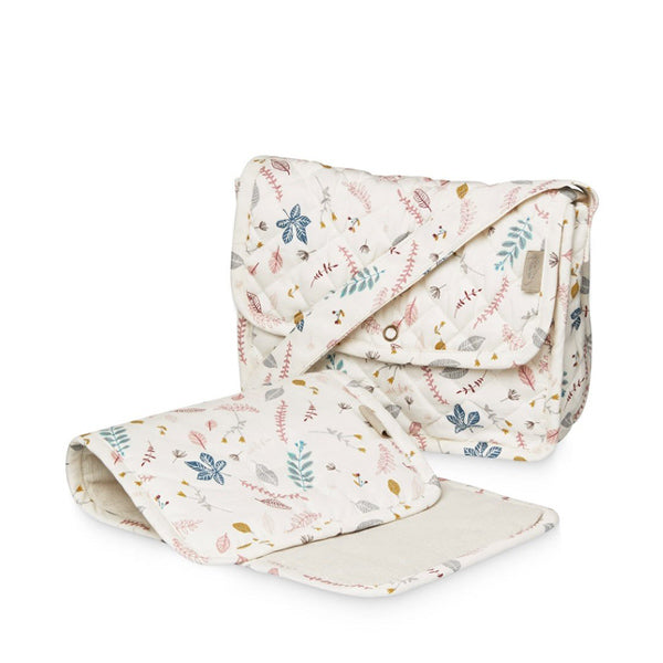 Cam Cam Copenhagen Doll's Changing Bag - Pressed Leaves Rose