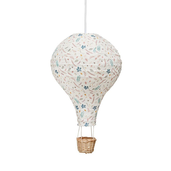Cam Cam Copenhagen Hot Air Balloon Lamp – Pressed Leaves Rose