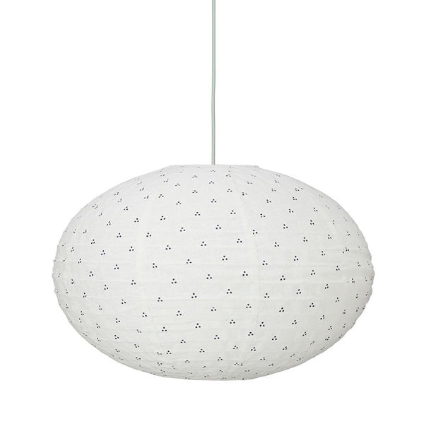 Cam Cam Copenhagen Ellipse Lamp – Navy Dots