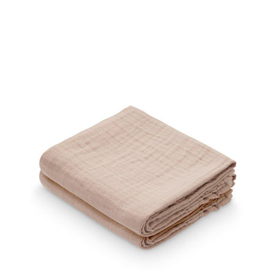Cam Cam Copenhagen Muslin Cloth - 2 pack - Dusty Rose