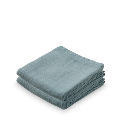 Cam Cam Copenhagen Muslin Cloth - 2 pack - Petroleum