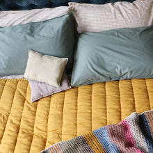 Camomile London Hand Quilted Blanket – Ochre