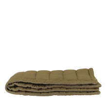 Camomile London Hand Quilted Blanket – Moss