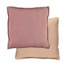 Camomile London Padded Cushion – Blush/Peach Blossom