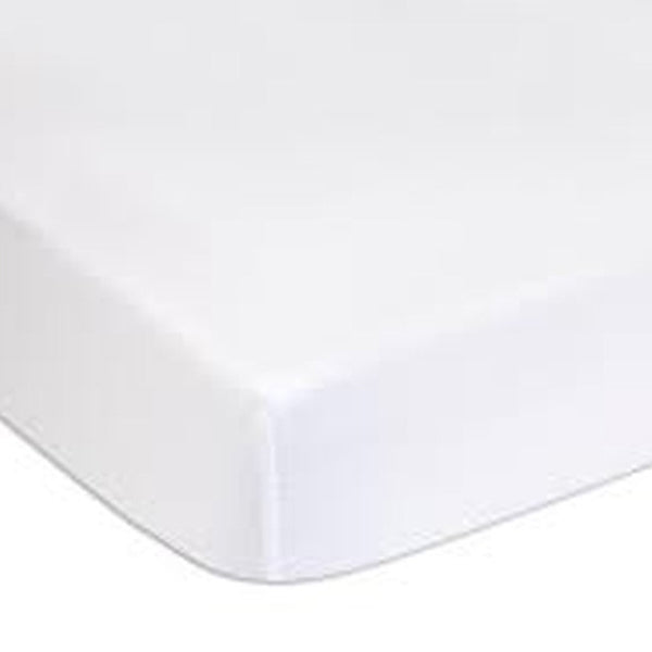 Charlie Crane Fitted Sheet for MUKA Bed - White