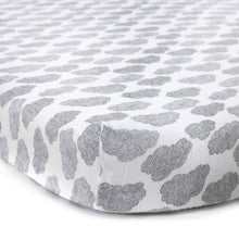 Charlie Crane Fitted Sheet for MUKA Bed - Moumout Cloud