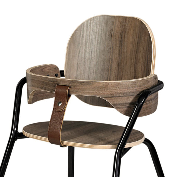 Charlie Crane Walnut Baby Set for TIBU Chair 'Black Edition'