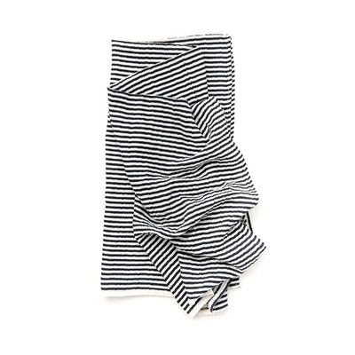 Clementine Kids Swaddle – Black and White Stripe