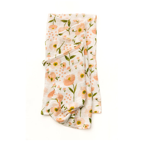 Clementine Kids Swaddle – Blush Bloom