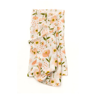 Clementine Kids Swaddle – Blush Bloom - Clementine Kids | Elenfhant