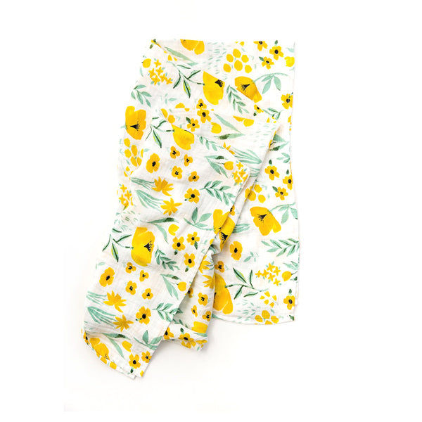 Clementine Kids Swaddle – Buttercup Blossom - Elenfhant
