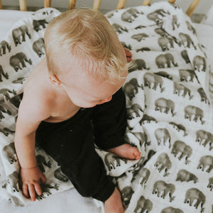 Clementine Kids Swaddle – Elephant