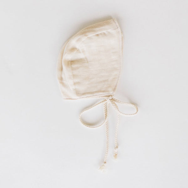Clementine Kids Heirloom Bonnet – Vanilla